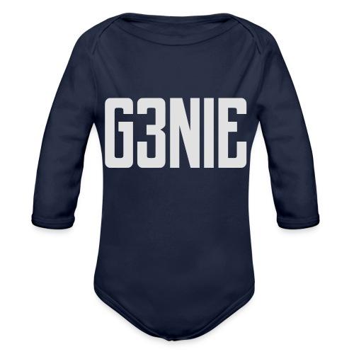 G3NIE case - Baby bio-rompertje met lange mouwen
