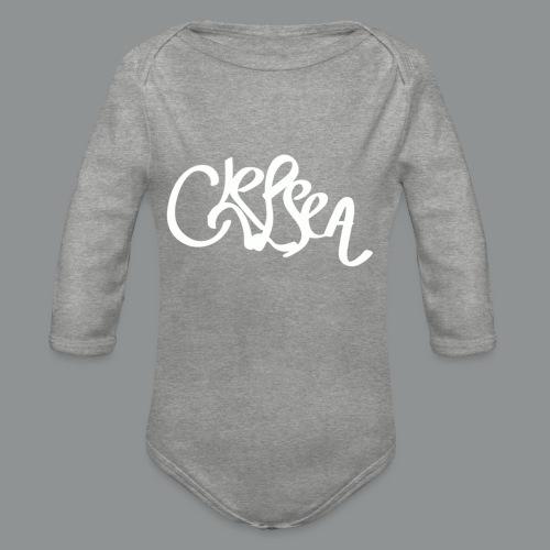 Sweater Unisex (rug) - Baby bio-rompertje met lange mouwen