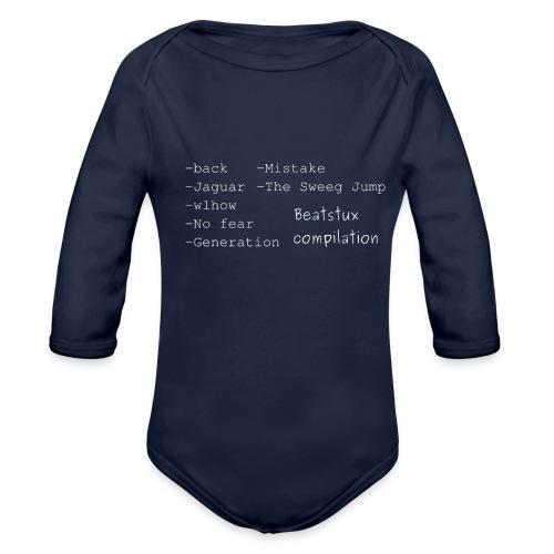 compilation_bianco - Body ecologico per neonato a manica lunga
