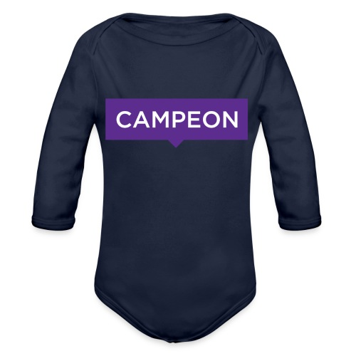 KlassiskCampeon - Ekologisk långärmad babybody