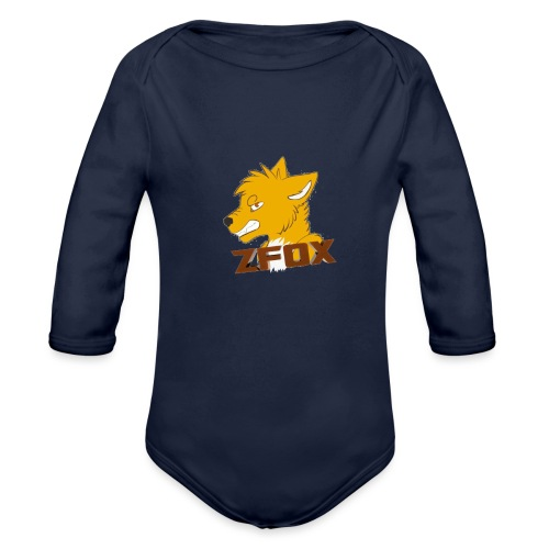 zfox simbolo - Body ecologico per neonato a manica lunga