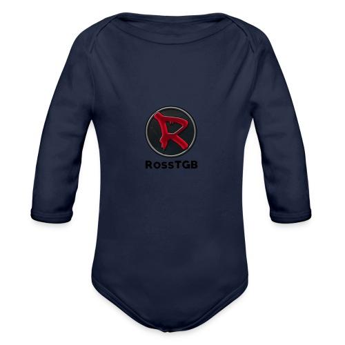 LOGO_SHIRT - Organic Longsleeve Baby Bodysuit
