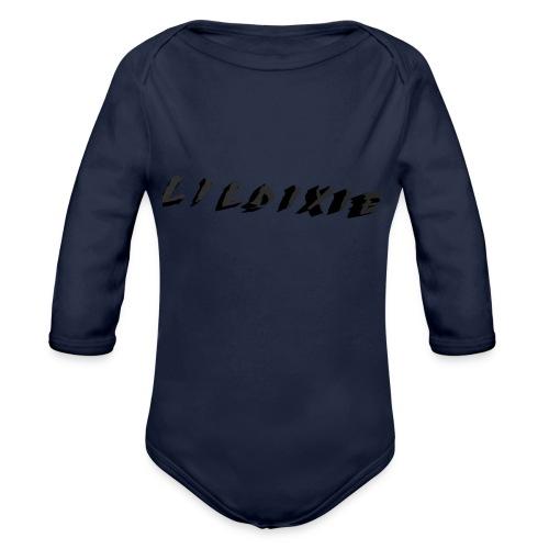 Martyric Logo Design Top Right - Organic Longsleeve Baby Bodysuit