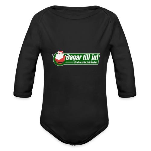 DTJ - Få den rätta julkänslan - Ekologisk långärmad babybody