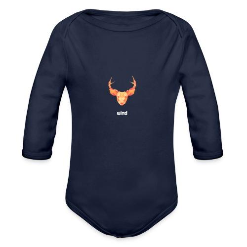 deer - Body bébé bio manches longues