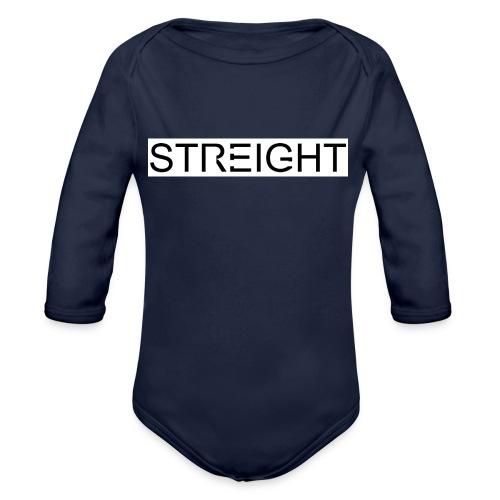 STREIGHT - Baby Bio-Langarm-Body