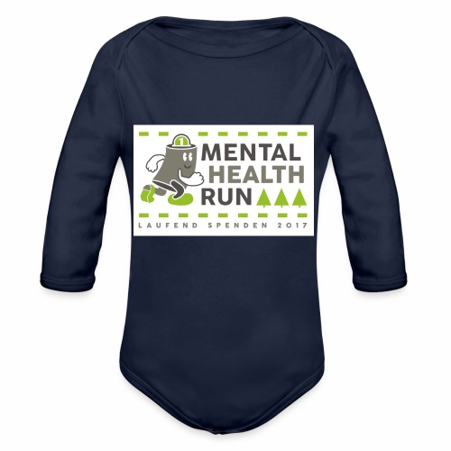 mental health run 2017 - Baby Bio-Langarm-Body