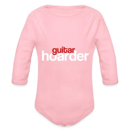 Guitar Hoarder - Organic Longsleeve Baby Bodysuit