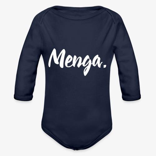 Menga. - Body ecologico per neonato a manica lunga