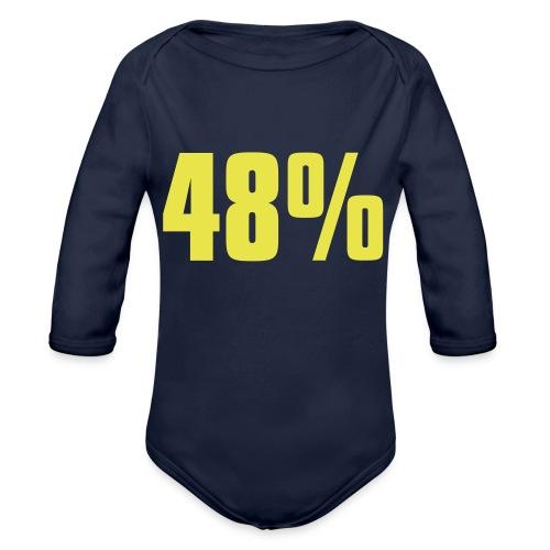 48% - Organic Longsleeve Baby Bodysuit