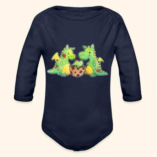 Drachenfamilie - Baby Bio-Langarm-Body