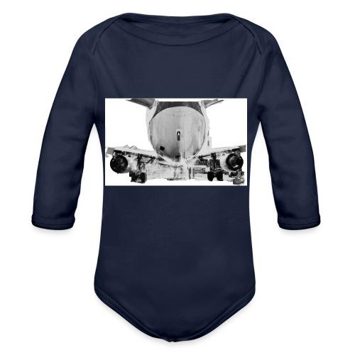 jet2 - Body ecologico per neonato a manica lunga