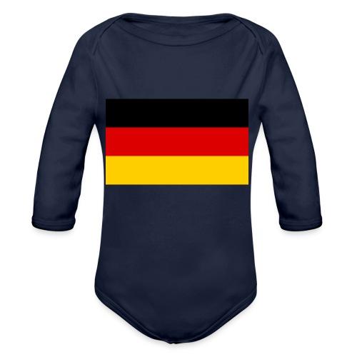 2000px Flag of Germany svg - Baby Bio-Langarm-Body