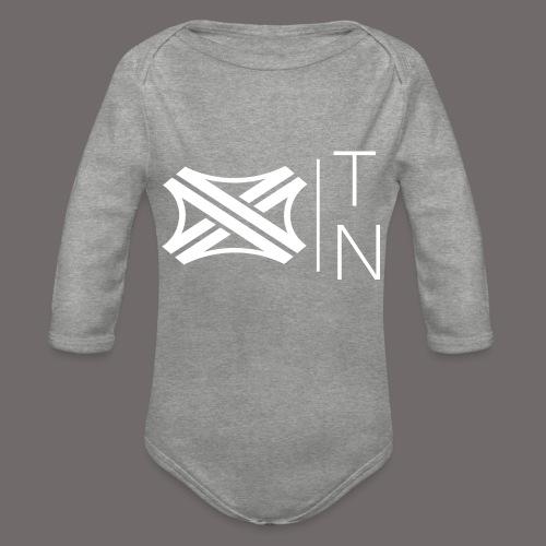 Tregion logo Small - Organic Longsleeve Baby Bodysuit