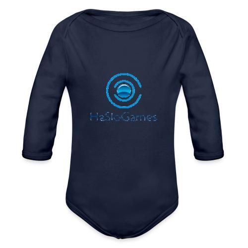 HasloGames Producten officieel logo - Baby bio-rompertje met lange mouwen