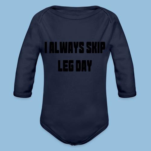 legday3 - Baby bio-rompertje met lange mouwen