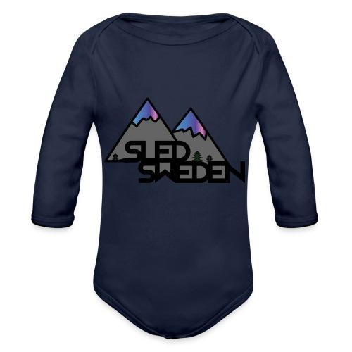SledSweden Official Logo Special Edition - Ekologisk långärmad babybody