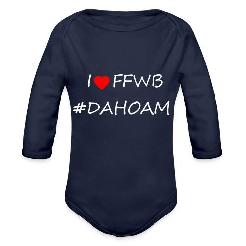 I ❤️ FFWB #DAHOAM - Baby Bio-Langarm-Body