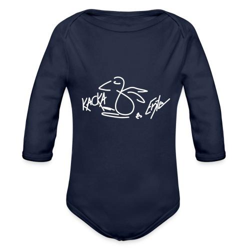 Kacka Ente - Baby Bio-Langarm-Body