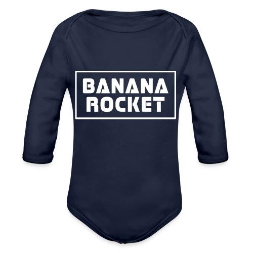 Banana Rocket Classic Woman - Body ecologico per neonato a manica lunga