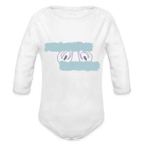 nieobcy domyślny - Ekologiczne body niemowlęce z długim rękawem