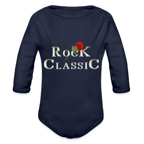 Rock Classic Rose - Baby Bio-Langarm-Body