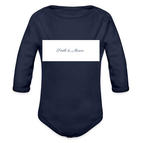 Smith & Mason The Classic - Organic Longsleeve Baby Bodysuit