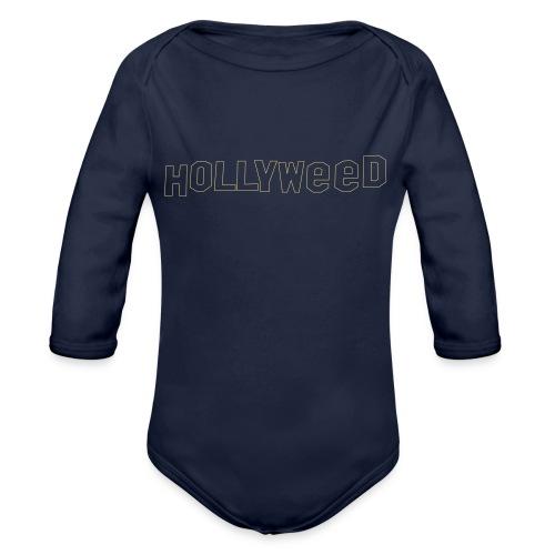 Hollyweed shirt - Body Bébé bio manches longues