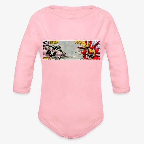 ATOX - Body ecologico per neonato a manica lunga