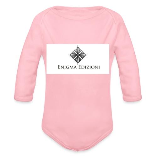 enigma - Body ecologico per neonato a manica lunga