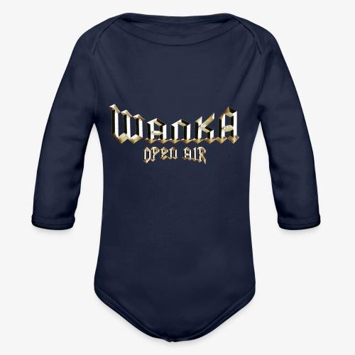 Logo Oficial Wanka Open Air - Body orgánico de manga larga para bebé