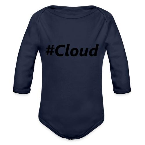 #Cloud black - Baby Bio-Langarm-Body