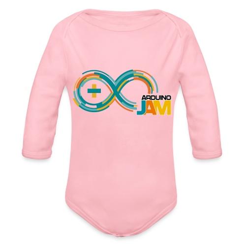 T-shirt Arduino-Jam logo - Organic Longsleeve Baby Bodysuit