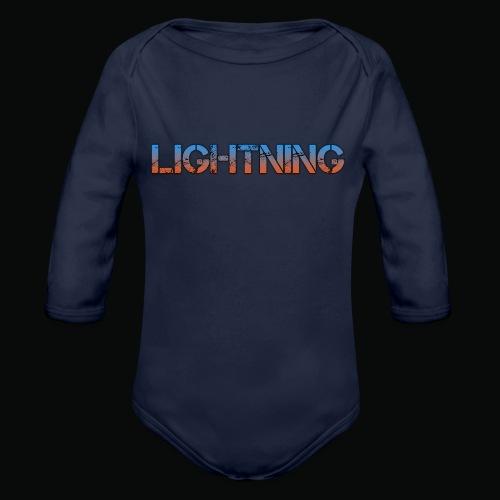 Lightning - Organic Longsleeve Baby Bodysuit