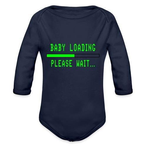 Baby Loading - Vauvan pitkähihainen luomu-body