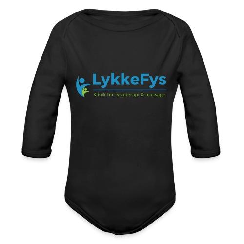 Lykkefys Esbjerg - Langærmet babybody, økologisk bomuld