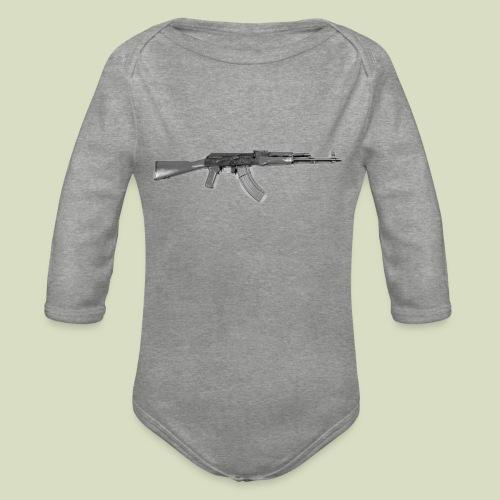 AK - Vauvan pitkähihainen luomu-body