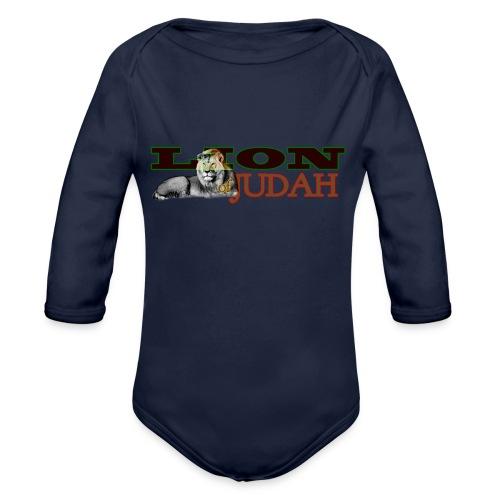 Tribal Judah Gears - Organic Longsleeve Baby Bodysuit