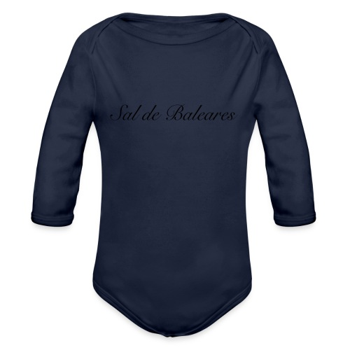 Sal de Baleares Arbeitskleidung - Baby Bio-Langarm-Body