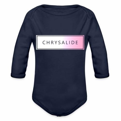 Chrysalide t shirt 007 - Body Bébé bio manches longues
