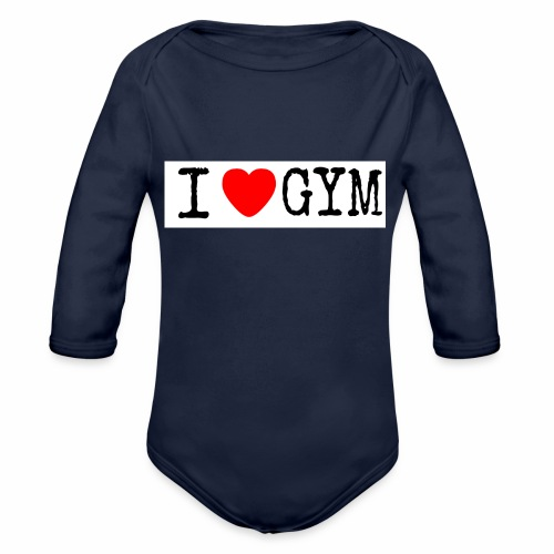 LOVE GYM - Body ecologico per neonato a manica lunga