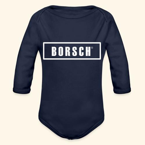 Borsch - Langærmet babybody, økologisk bomuld