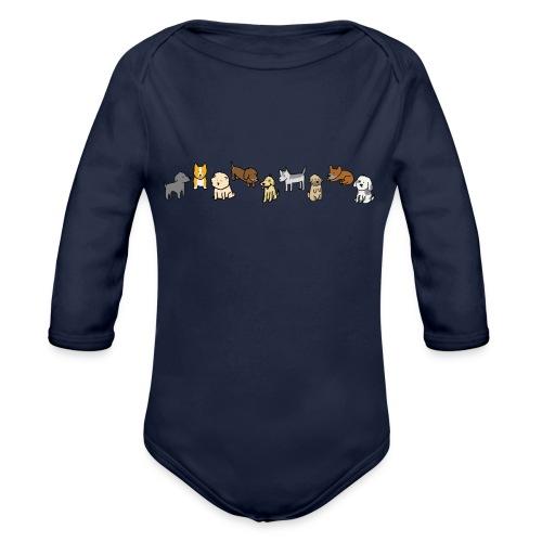 Doggos - Organic Longsleeve Baby Bodysuit