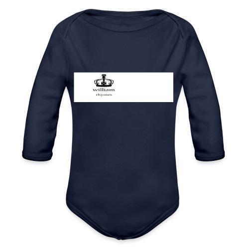 william - Organic Longsleeve Baby Bodysuit