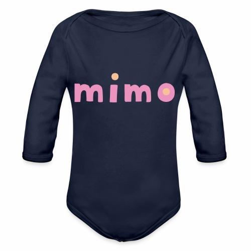 mimo - Baby Bio-Langarm-Body