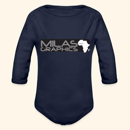 Milas Graphics Africa - Body Bébé bio manches longues