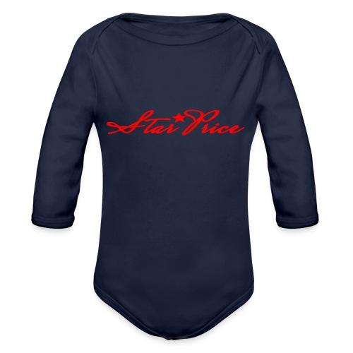 star price (red) - Organic Longsleeve Baby Bodysuit