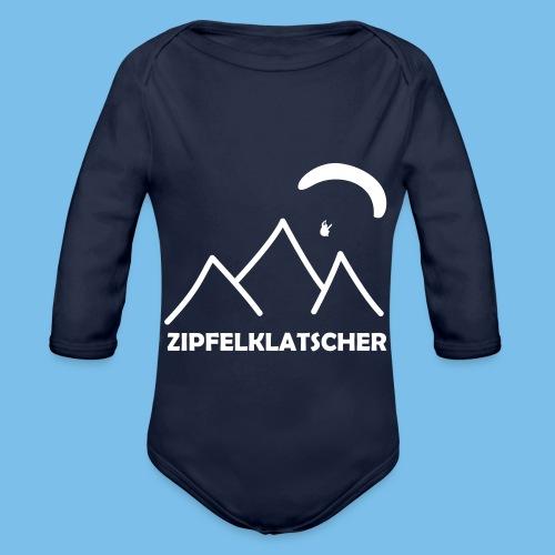 gleitschirmflieger paragliding geschenk T-shirt - Baby Bio-Langarm-Body