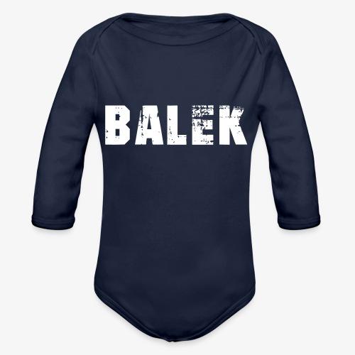 BALEK - Body Bébé bio manches longues