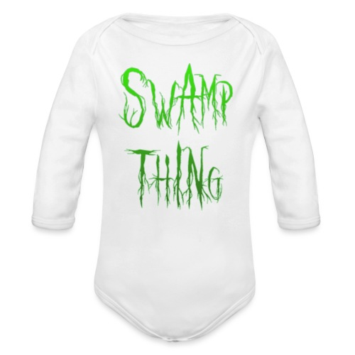 Swamp thing - Organic Longsleeve Baby Bodysuit